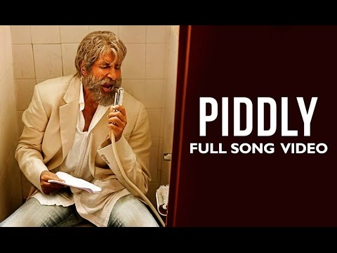 Piddly Official Full Song Video | Shamitabh | Amitabh Bachchan