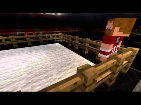 Minecraft WWE Daniel Bryan vs Randy Orton Travel Video