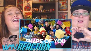 Gen Halilintar - Ed Sheeran - Shape of You [Official Cover Video] REACTION!! 🔥