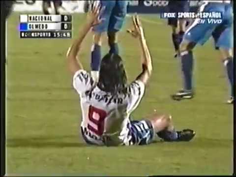 Nacional de Uruguay  vs Olmedo 2005 - Copa Libertadores - Partido completo.
