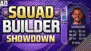 FIFA 18 SQUAD BUILDER SHOWDOWN!!! HERO SIGURDSSON!!! 84 Rated Purple Glyfi Sigurdsson