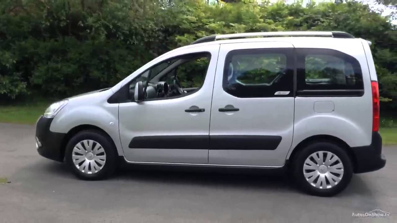 citroen berlingo multispace e hdi xtr aluminium silver 2012 youtube. Black Bedroom Furniture Sets. Home Design Ideas