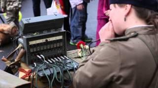 Экспозиция Полевого Музея Истории Телефона в Санкт-Петербурге
