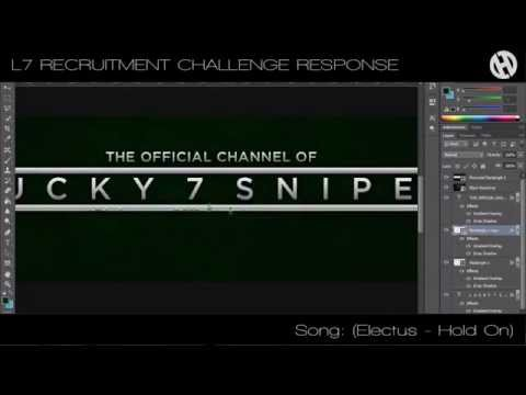 @ArtsOfLucky7  Recruitment Challenge Response Part 1 By Harry - (Layout Design Speed Art)