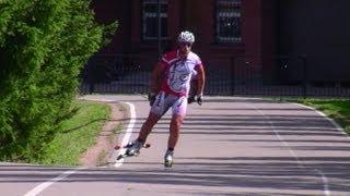 Коньковый ход на лыжах - правильная техника с видео