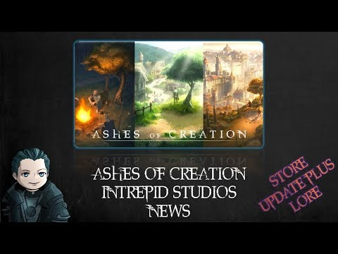 Intrepid Studios does Extra Life for Charity / November Store Updates / Lore [Ashes of Creation]