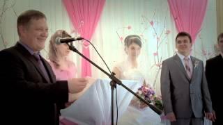 Свадебное видео Христианская свадьба