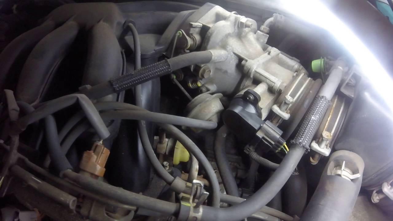 02 Lexus ES300 TPS sensor  YouTube