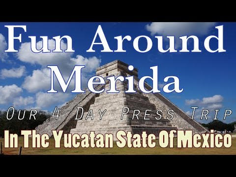 Fun Around Merida - Our 4 Day Press Trip In The Yucatan Stat