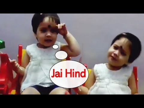 Cute Little Girl Sing Indian National Anthem Song | Every Indian Proud to Her
