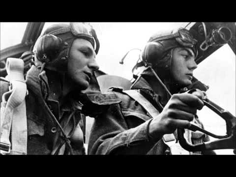 WW2 bomber radio chatter, classy as hell