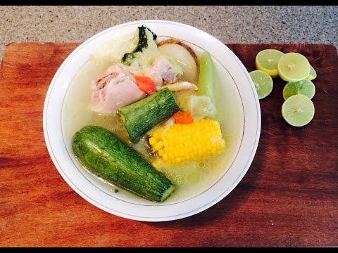 Caldo De Pollo/ Chicken Soup (How To)