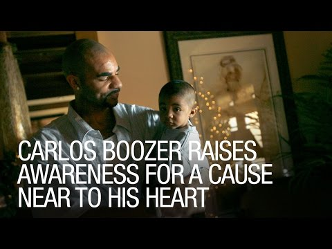 Carlos Boozer Raises Awareness for a Cause Near to his Heart