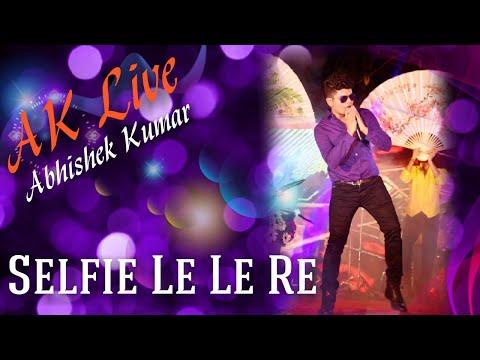 Abhishek Kumar   Indian Idol   Performing Live   Selfie Le Le