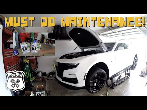 How to Maintain your 2019 Camaro SS Engine and Differential! | Vlog #262