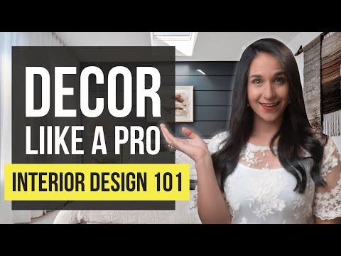 INTERIOR DESIGN 101 PRO Tips   TOP 3 Principles for Home Decor