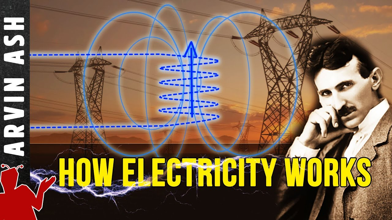 What is electricity? How does it work? Nikola Tesla's AC vs DC