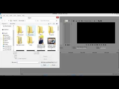 How to Fix MKV/WEBM/AVI video file in vegas pro 14