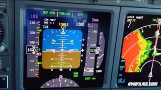 Gambar cover Boeing 737 cockpit instrument approach landing