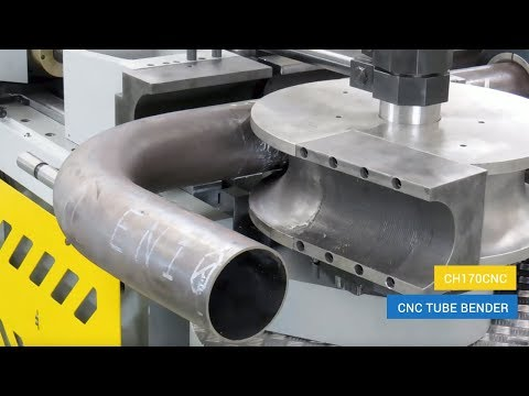 CNC pipe bending machine CH170CNC Shipbuilding Offshore