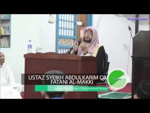 Bengkel al-Fatihah - Ustaz Syeikh Abdulkarim Omar Fatani al-Makki @ Masjid al-Mansuriah