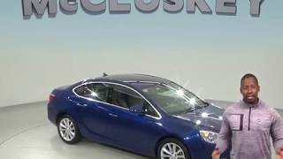 G98701ZP Used 2013 Buick Verano Base FWD 4D Sedan Blue Test Drive, Review, For Sale -