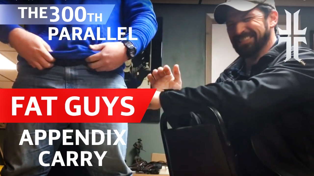 894d0f6b02d30 Fat Guys Concealed Carry   The  300th Parallel  - YouTube