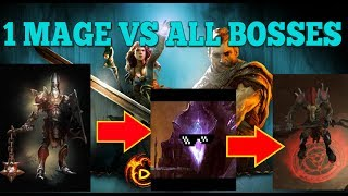 1 MAGE Vs. ALL BOSSES (almost) | Drakensang Online