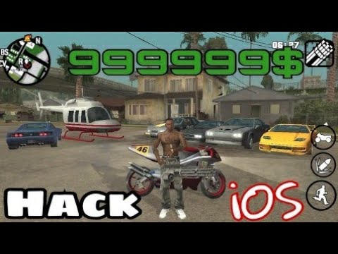 HOW TO download hack GTA SAN ANDREAS ON IOS WITH PROOF GAMEPLAY