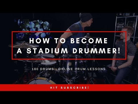 So you want to be a STADIUM DRUMMER? | Drum Lesson | Mark Schulman