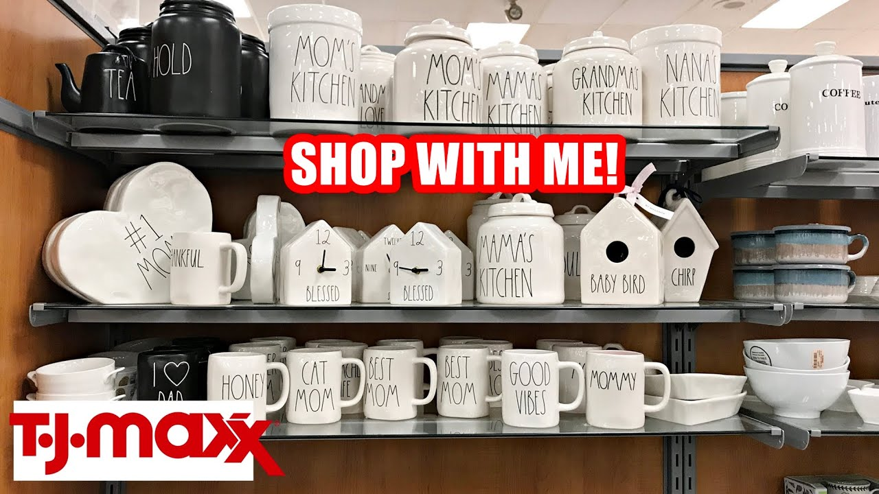 Tj Maxx Shop With Me Kitchenware Cookware Bakeware Rae Dunn Youtube
