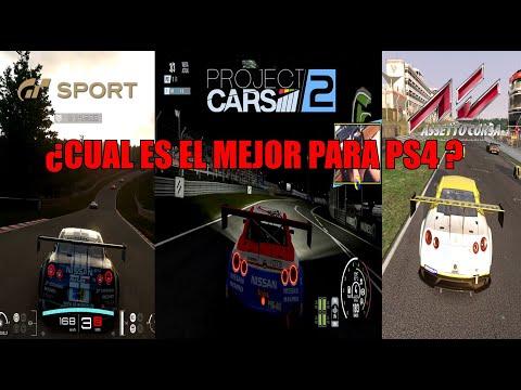 Comparativa GT Sport VS Project cars 2 VS Assetto corsa ¿Cual es el mejor en PS4?