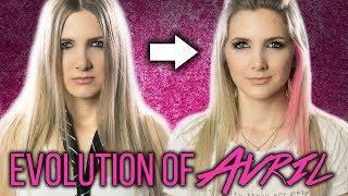 Evolution of Avril Lavigne - Mashup by Halocene