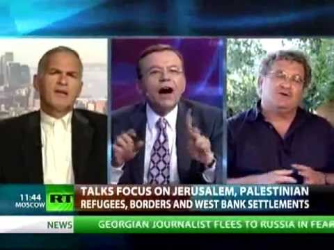 Crosstalk: Finkelstein vs Morris - Israel/Palestine Debate