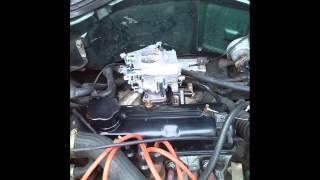 Adaptación de carburador a Renault 19 (motor 1400 c.c)