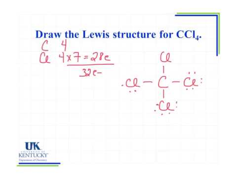 603 Draw the Lewis structure for CCL4  YouTube