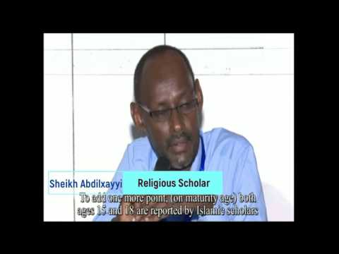 Convention of the Rights of Child in Somalia
