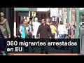 Denise Maerker 10 en punto - 360 migrantes arrestadas en EU-Migrantes