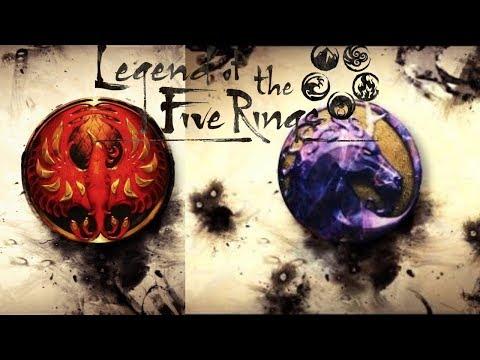 [Legend of the 5 Rings] Phoenix & Unicorn Previews // Bad Publicity