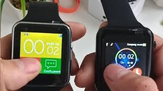обзор смарт часов G10d и X6