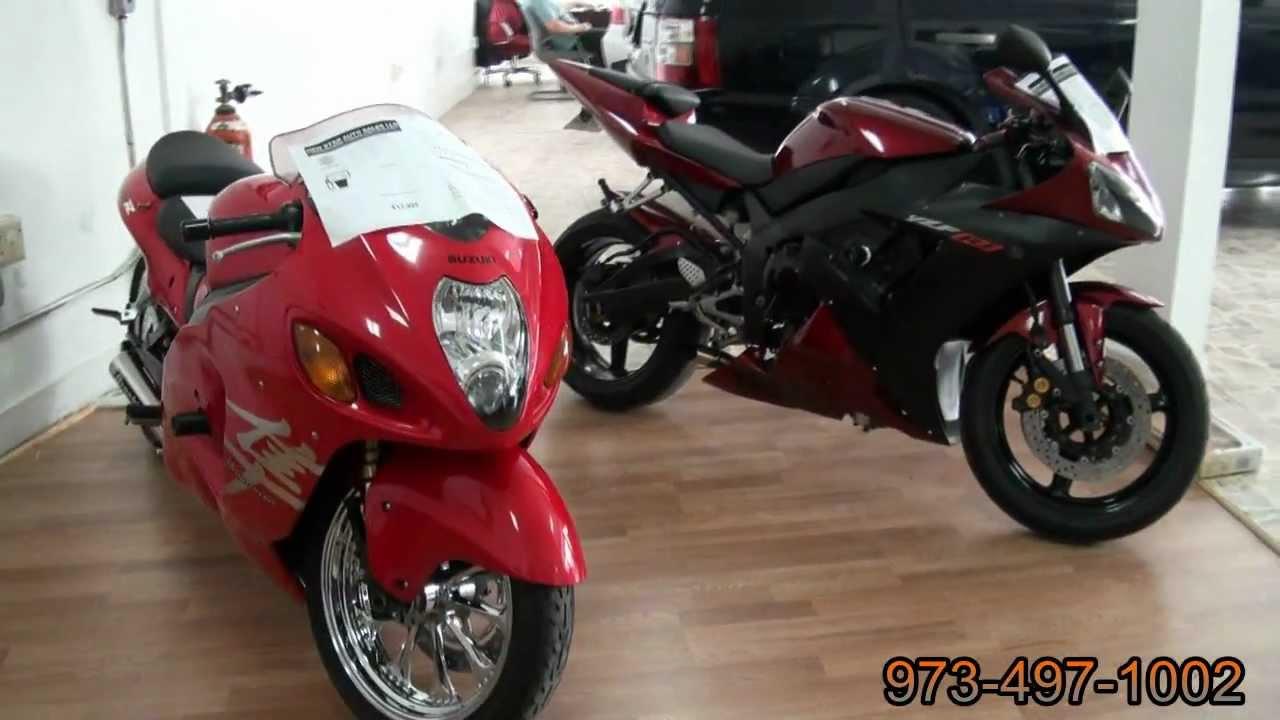 2004 Suzuki GSX1300R Hayabusa & 2003 Yamaha YZF-R1 Motorcycles