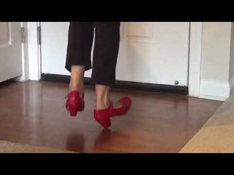 """Ballet Folklorico Basic Step tutorial 3 """"Zapateado"""""""