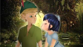 Miraculous Ladybug Speededit: Peter Pan and Wendy | Adrien and Marinette