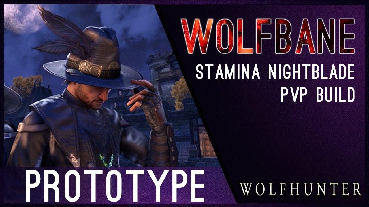 Let the hunt begin! Anti-Werewolf Nightblade Build PROTOTYPE for Wolfhunter  DLC