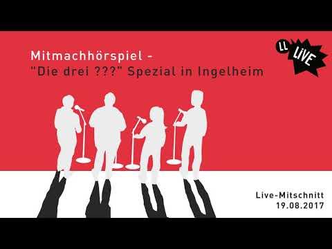 """Lauscherlounge - """"Die drei ???"""" Spezial in Ingelheim"""