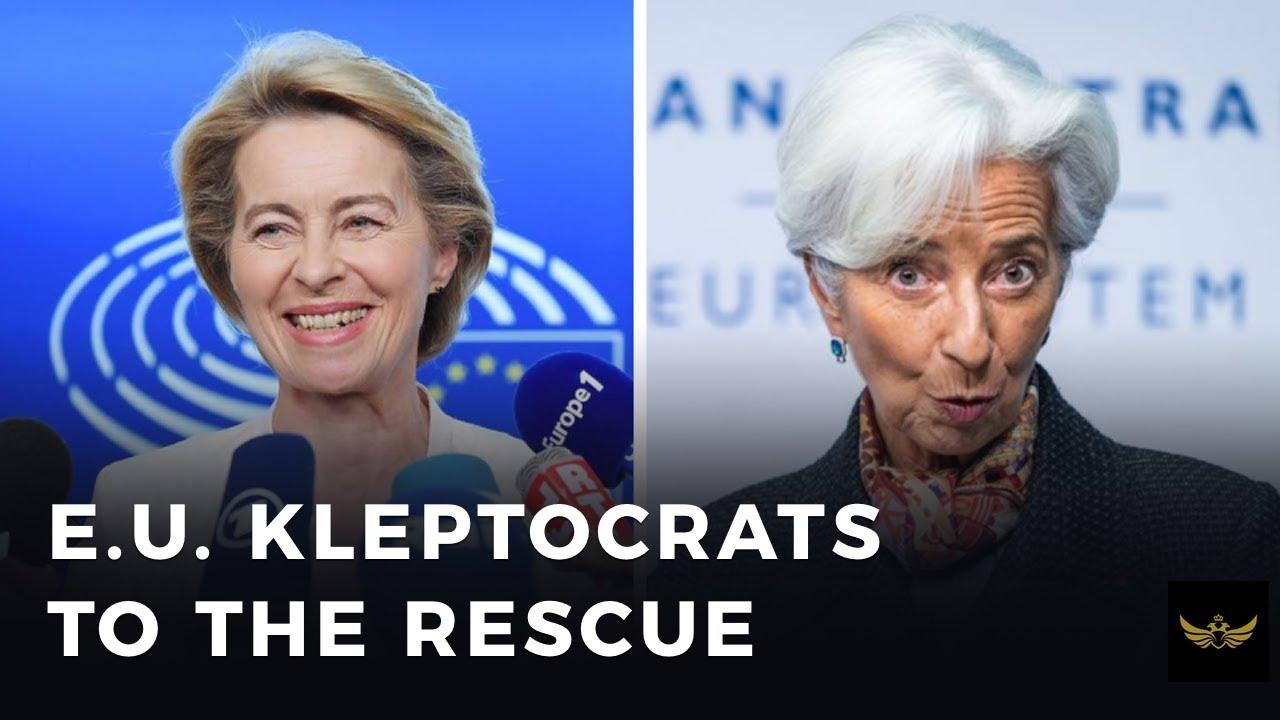 EU leaders prepare trillion euro kleptocrat slush fund