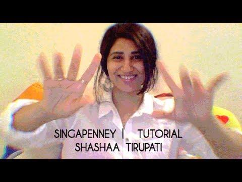 Download Lagu  Singappenney | Tutorial  | Shashaa Tirupati Mp3 Free