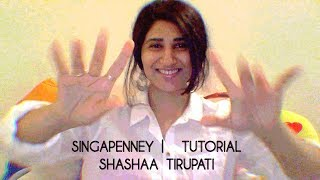 Cover images Singappenney | Tutorial Video | Shashaa Tirupati