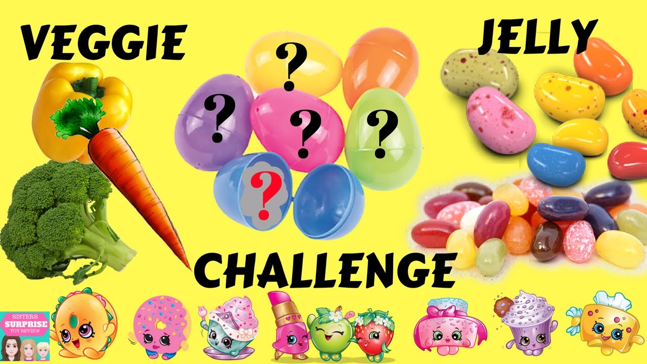 Toy Channel Veggie Or Jelly Food Challenge Game Youtube