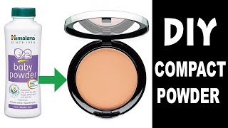 DIY compact powder at home || DIY Makeup || s for style